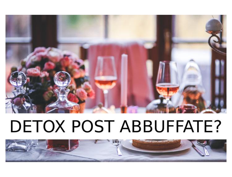 Alimentazione Sana - La dieta detox dopo le abbuffate invernali | Dott. Forloni Nutrizionista